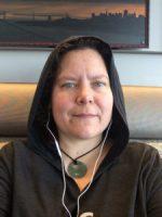 Selfie of me wearing a hoodie