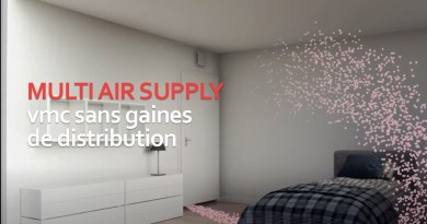 VMC sans gaines de distribution : Multi Air Supply
