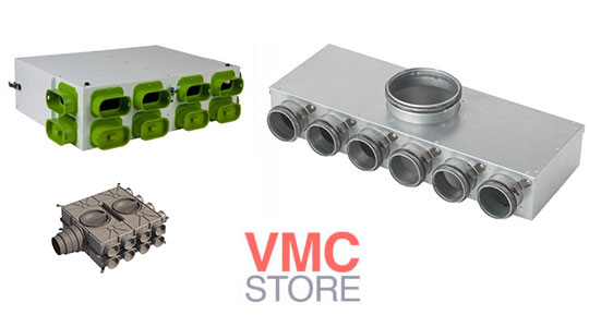 SYSTEME DISTRIBUTION AIR VMC DOUBLE FLUX