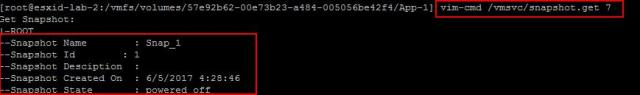 Manage VMware Snapshot from ESXCLI_2