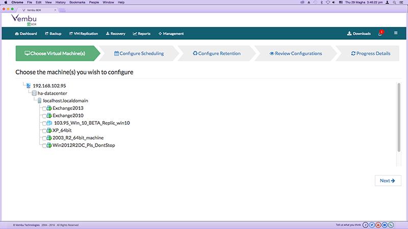 VMwareGuruZ | Vembu VMBackup v3 7 0