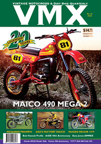 VMX issue 74 cover