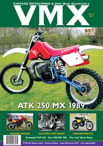 Cover of VMX magazine issue 77