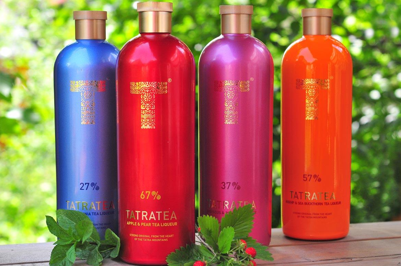 likér tatranský čaj tatratea