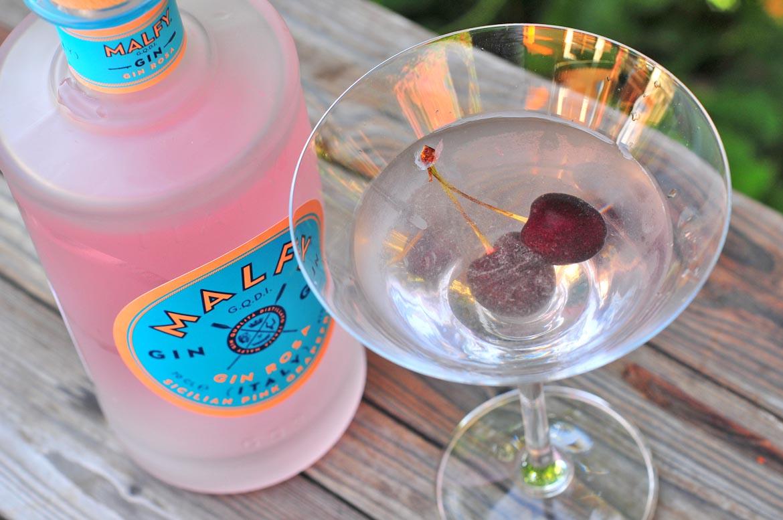 malfy gin rosa kokteil