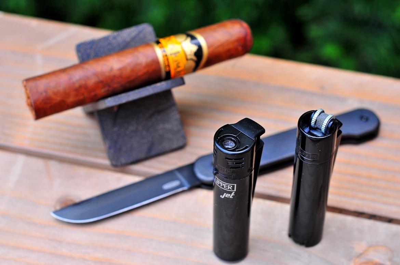 zapačovač clipper cigara