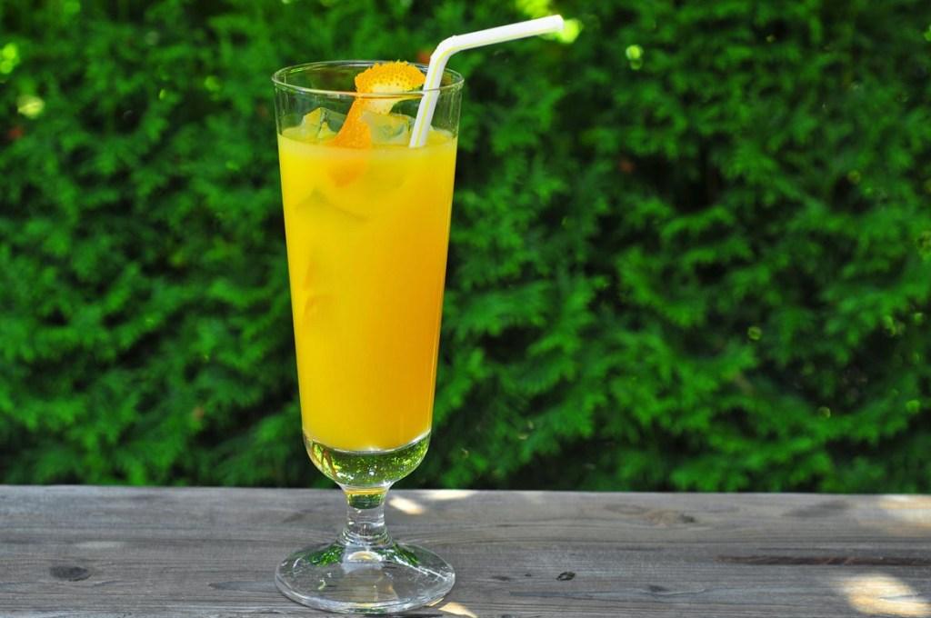 Malfy Gin Rosa & Orange Juice
