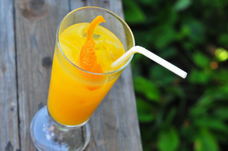 kokteil Malfy Gin Rosa & Orange Juice