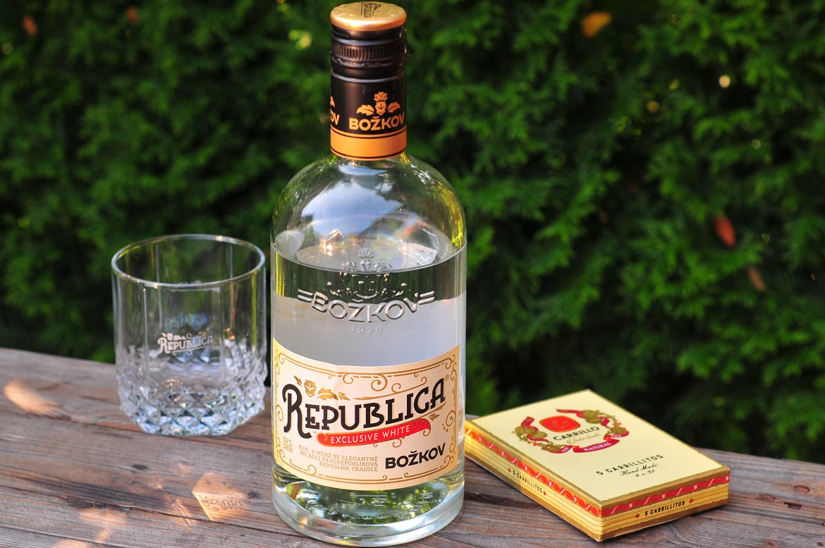 rum božkov republica exclusive white