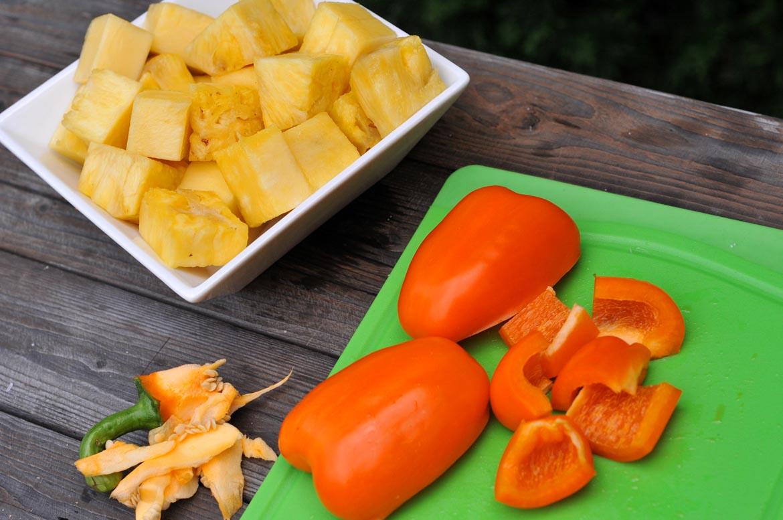 ananás paprika