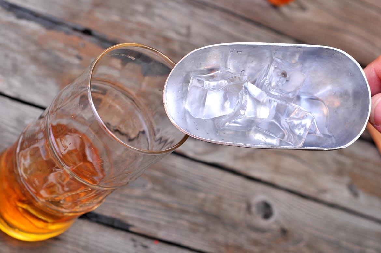 sunrise rumový drink