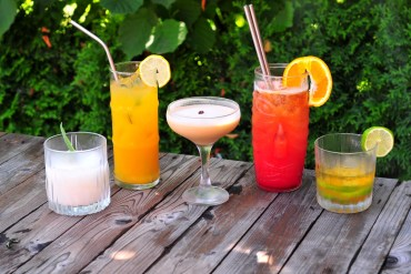 rumové kokteily drinky