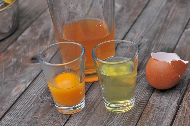 vajce žĺtok bielok
