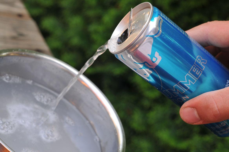 Red Bull punč víťazov