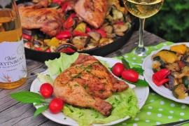 poulet en ratatouille