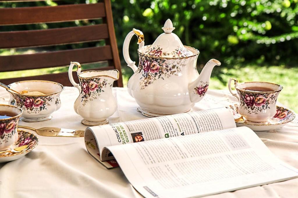 čaj na chalupe