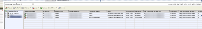Trend OfficeScan Telnet Settings
