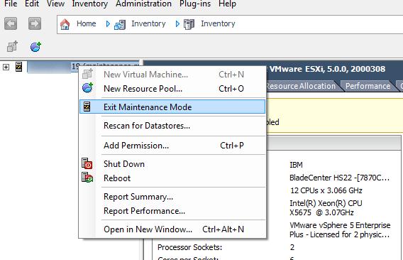 vCenter Server P2V Step 3