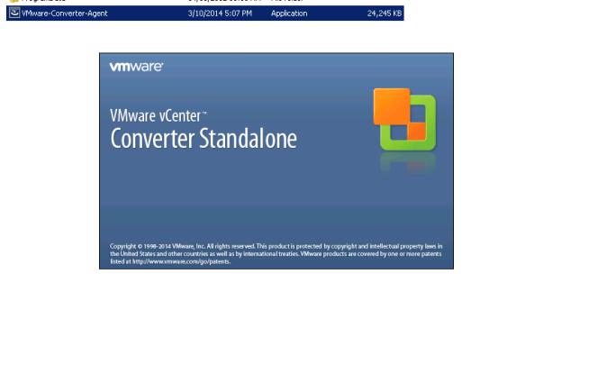 vCenter Server P2V Step 18