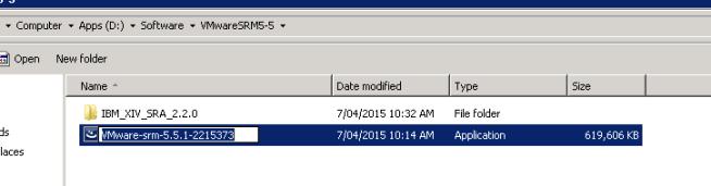 Update SRM 5.5