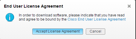 UCS Central Software Download License Agreement