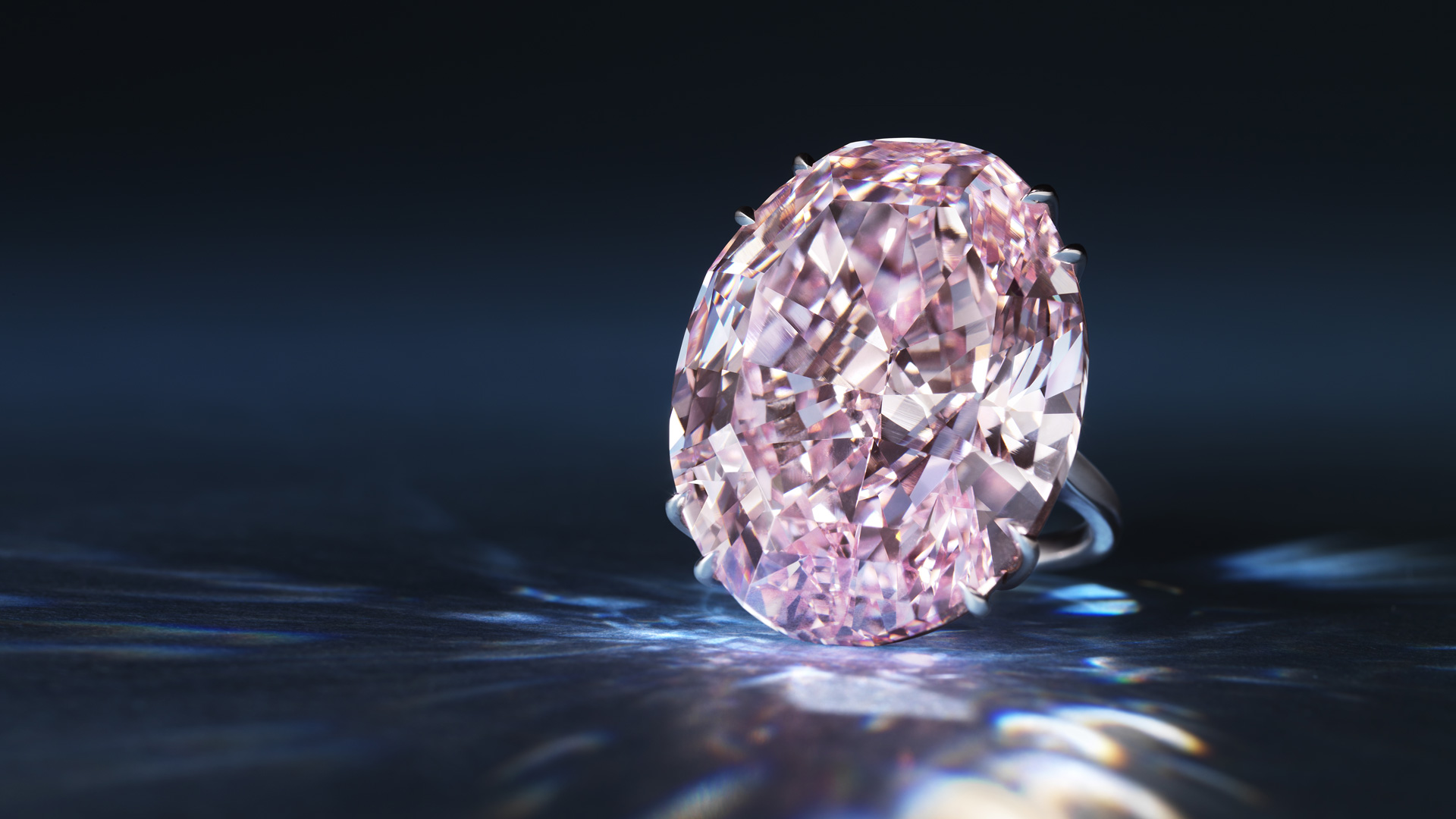 Meet The Pink Star The Most Precious Cut Diamond To Be
