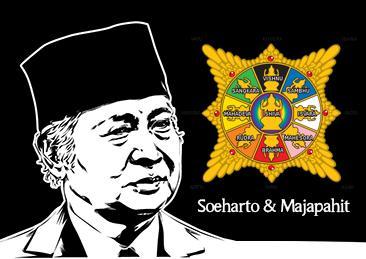 Agungkan Sejarah Majapahit,Soeharto Keluarkan Dana Besar
