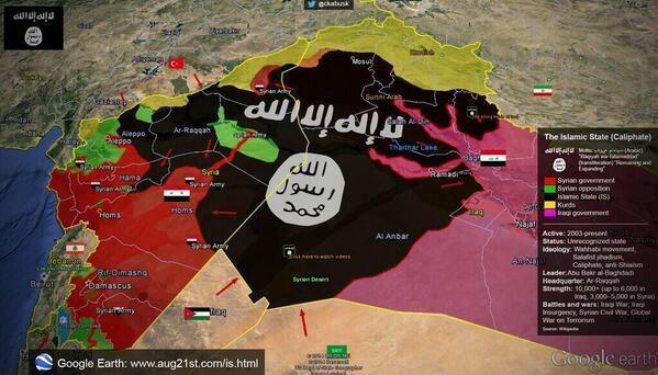 AS, Saudi & Emirat Bombardir 12 Kilang Minyak Milik Islamic State (ISIS) di Suriah