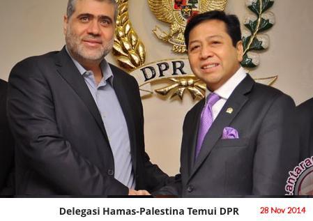 Dukung Palestina Merdeka, Pemerintah Sebaiknya Izinkan Hamas Dirikan Kantor
