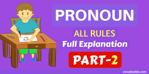 14 Most Important Pronoun Rules With Example Sentence Part-2