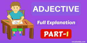 Adjective Full Explanation And Types Of Adjective Part-1