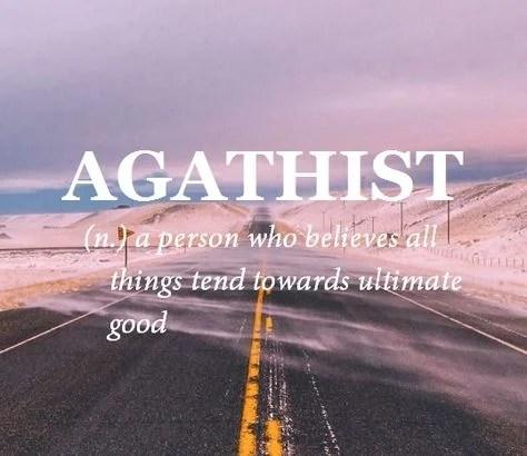 agathist new words