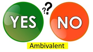 Word of the day-Ambivalent