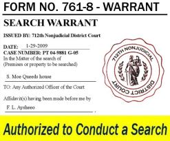 Word of the day-Warrant