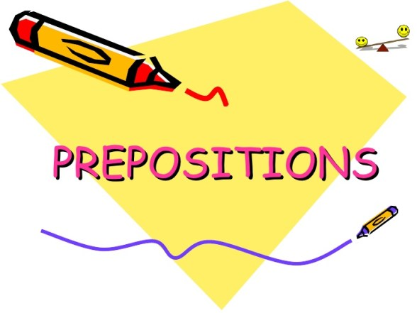 types of prepositions
