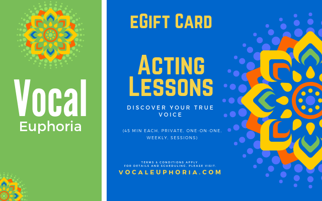 Acting Lessons eGift Card