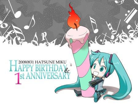 Happy Birthday Miku!