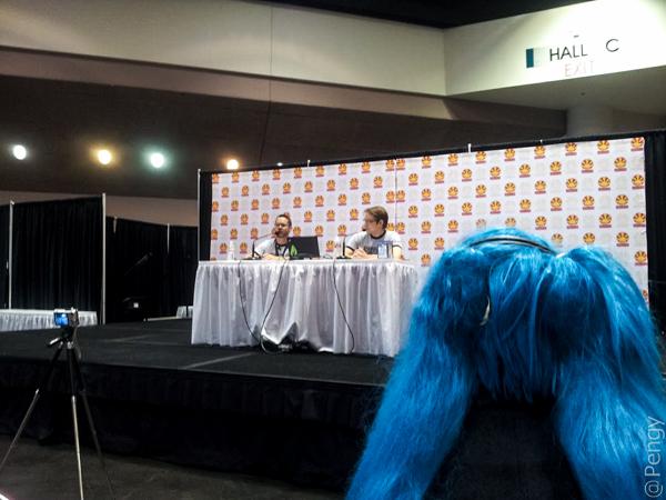 Sega's Hatsune Miku panelists