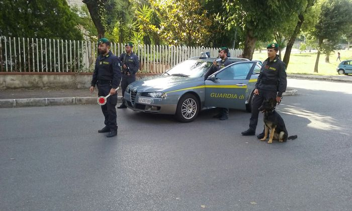 arresto per droga Guardia di finanza