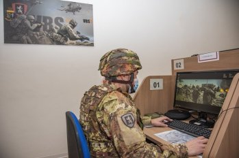 4. Le Unità di Manovra si addestrano con il simulatore Virtual Battle Space (VBS (2)