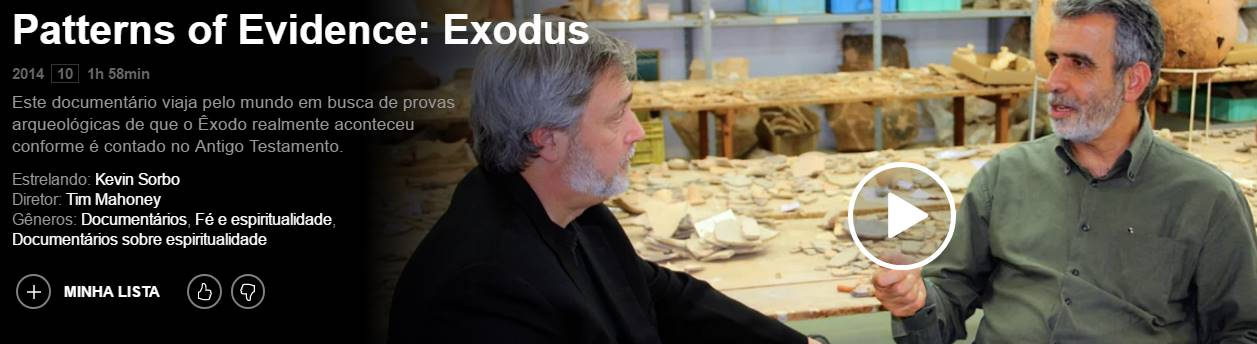 Patterns-of-Evidence-Exodus 🥇 Filmes evangélicos Gospel NetFlix 2019-2020 com Trailer