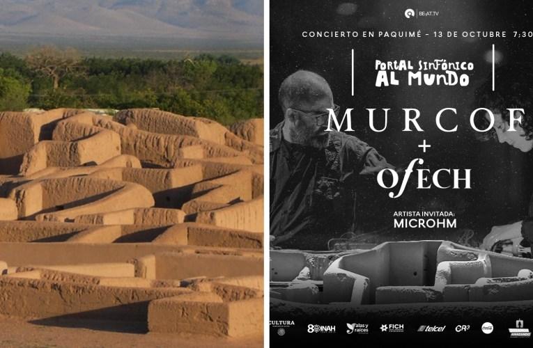 Este domingo 13 de octubre, El concierto Paquimé: Portal Sinfónico al Mundo, conjugará el legado ancestral de la zona arqueológica con la música clásica y el sonido electrónico