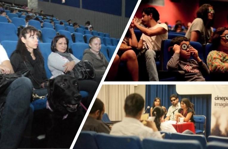 Exhibirán función especial gratuita de cine para imaginar dirigido a personas con discapacidad visual o auditiva