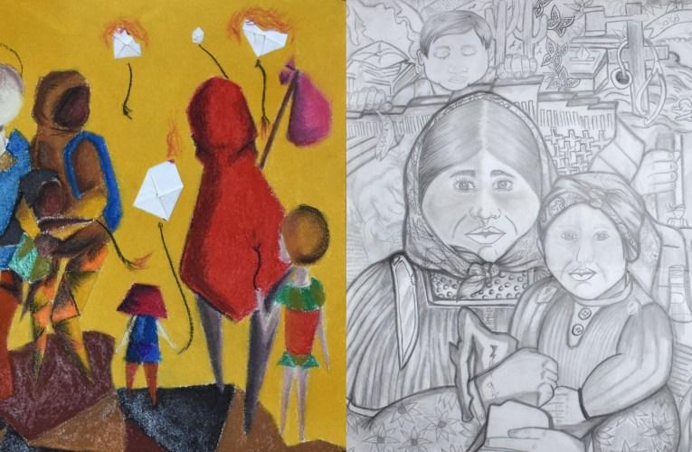 Ganan chihuahuenses 1º y 2º lugar en Concurso Nacional de Dibujo y Pintura Infantil y Juvenil 2019