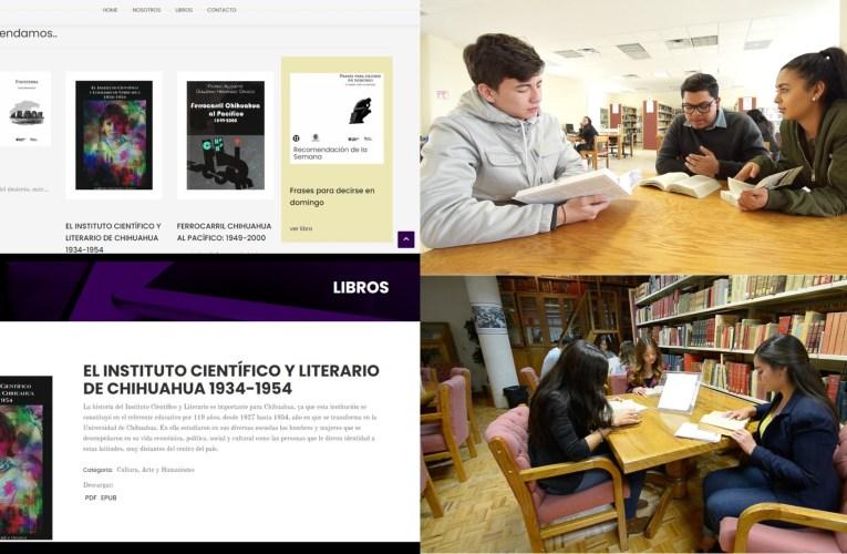 Celebra UACH día del libro, descarga autores universitarios ¡gratis!
