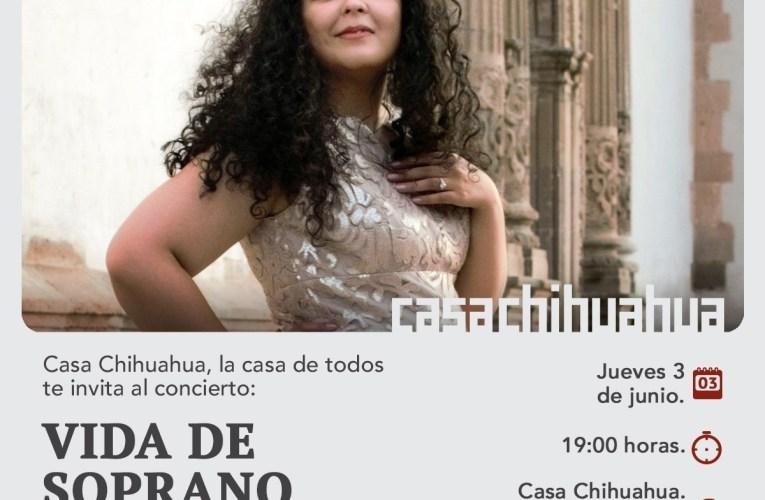 """Presentarán concierto """"Vida de soprano"""" con Loretto Guerrero"""