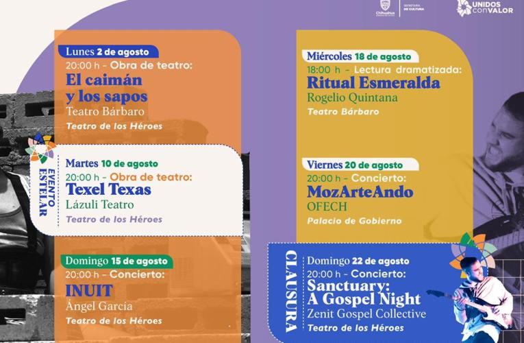 Tendrá Festival Internacional Chihuahua 2021 eventos presenciales y virtuales