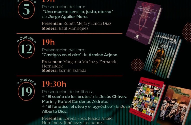 Invita Secretaría de Cultura a las Jornadas Bárbaras en la Ciudad de Chihuahua