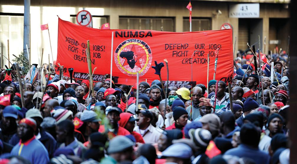 Image result for cosatu protests 2018 better jobs tyres