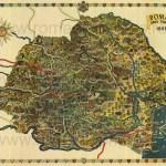 harta a turismului din 1938